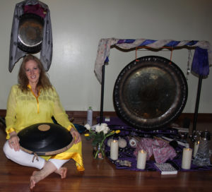 Holly Shay Gong Sound Bath Yoga